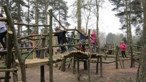 Sandringham Public Wooden Outdoor Childrens Play Area 13