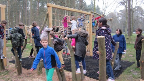 Sandringham Public Wooden Outdoor Childrens Play Area 15