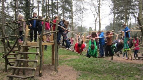 Sandringham Public Wooden Outdoor Childrens Play Area 19