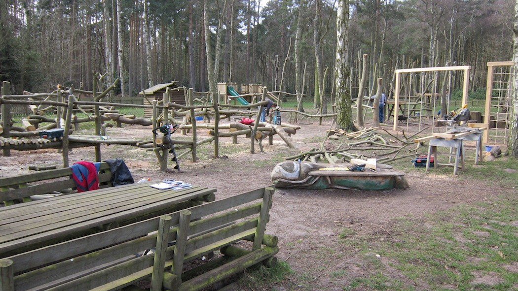 Sandringham Visitor Centre Outdoor Play Area Construction Phase I 16