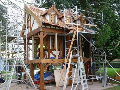 Scaffold Everywhere Pinewood Hideaway Custom Built Bespoke Treehouse Playhouse