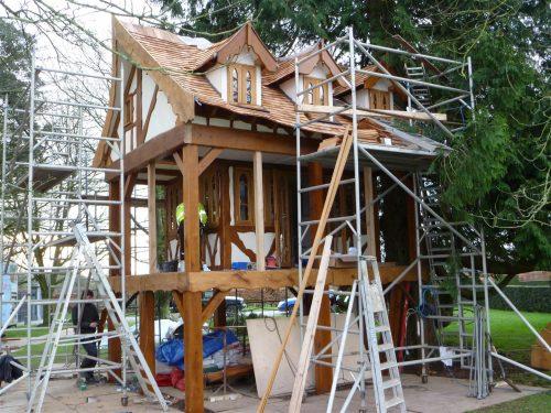 Scaffold Everywhere Pinewood Hideaway Custom Built Bespoke Treehouse Playhouse