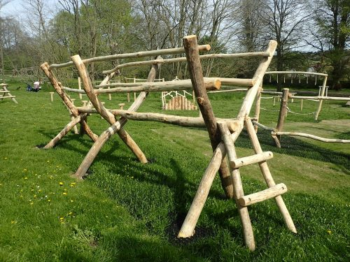 Scissor-Bridge-Ladder-Farnham-Park-Rustic-Trim-Trail-By-Flights-of-Fantasy