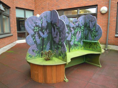 Seating Gloucestershire Royal Hospital Rooftop Play Area