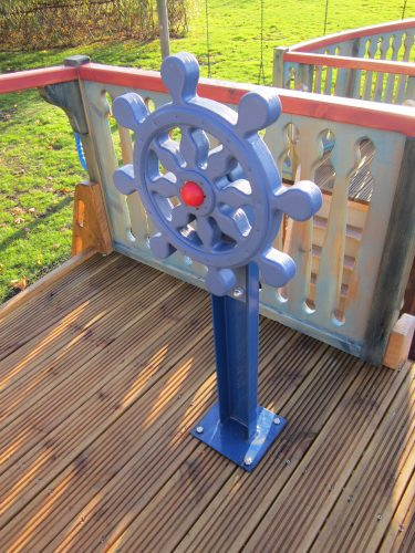 Ship Wheel Houghton Conquest School Pirate Ship Playground