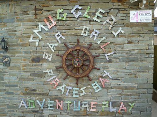 Sign Smugglers Bar And Grill Amroth Pirate Themed Seating And Benches