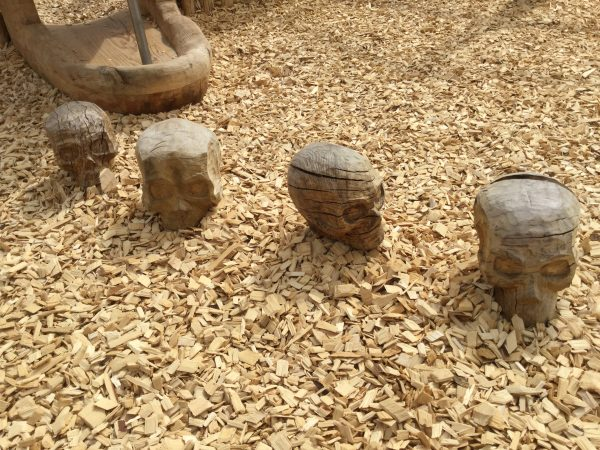 Skull Hop Stones Folly Farm Pirate Play Area Playground