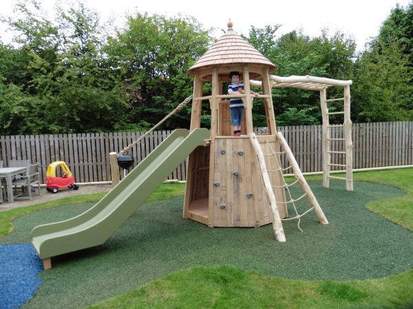 Slide And Climb Wall – Glasgow Garden Tower
