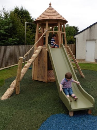 Slide And Step Log – Glasgow Garden Tower