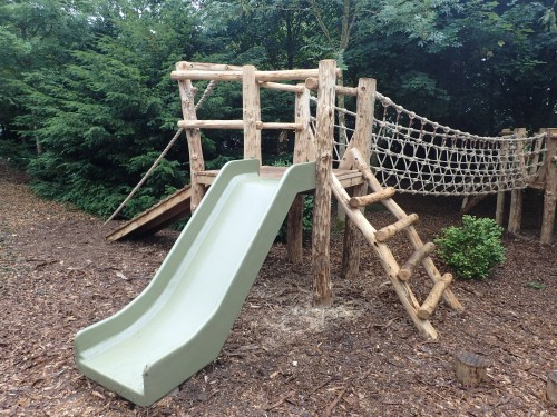 Slide Fountains Abbey And Studley Foyal Extensive Rustic Outdoor Woodland Play Area By Flights Of Fantasy