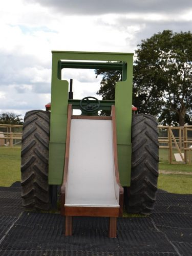 Slide Hatfield Farm Childrens Play Tractor With Slide 1 1