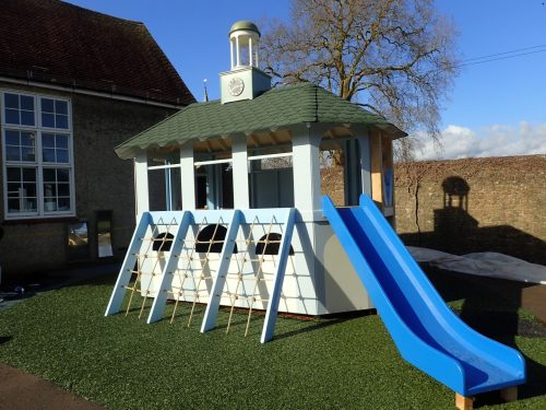Slide Moss Lane School Godalming Pepperpot Miniature Replica Play Area
