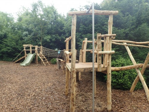 Slide Pole On Climb Tower Fountains Abbey And Studley Foyal Extensive Rustic Outdoor Woodland Play Area By Flights Of Fantasy