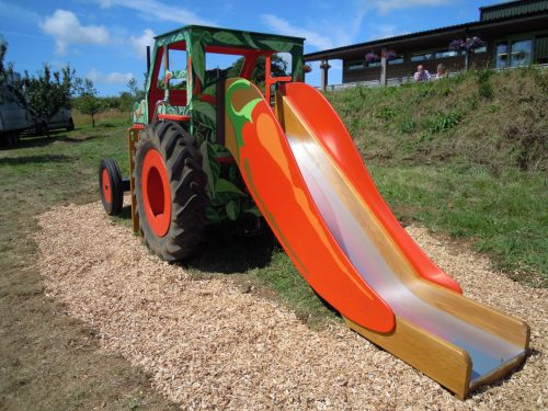 Slide South Devon Chilli Farm Hand Made Play Tractor