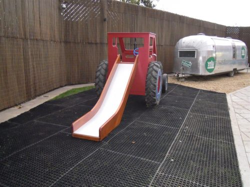 Slide Whole Food Cheltenham Red Play Tractor