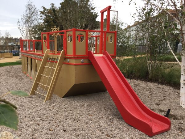 Slide And Climb Net Dreamland Play Pirate Ship