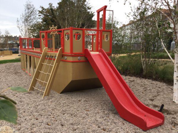 Slide And Climb Net Dreamland Play Pirate Ship