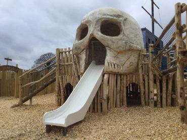 Slide And Skull Folly Farm Pirate Play Area Playground