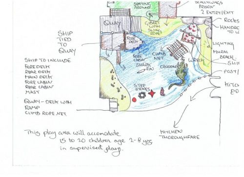 Smugglers Bar and Grill Plan