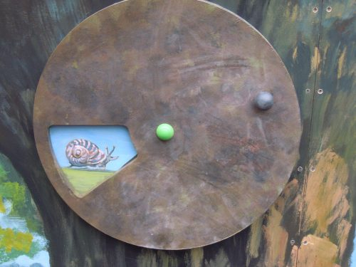 Snail Slider Gloucestershire Royal Hospital Rooftop Play Area