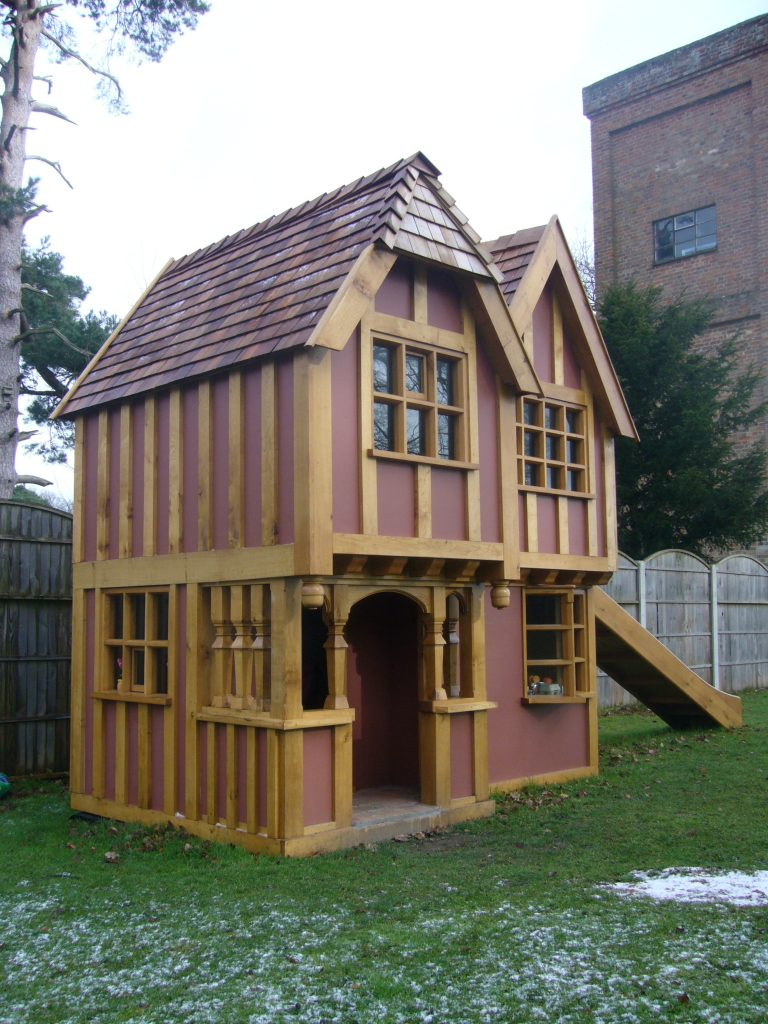 Snow Little Lodge Childrens Playhouse Wendy House Miniature Replica