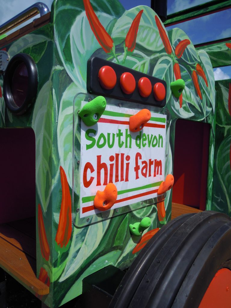 South Devon Chilli Farm Sign