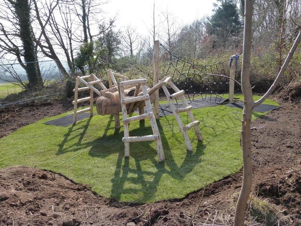 Spider Climbing Frame At Castlewellan