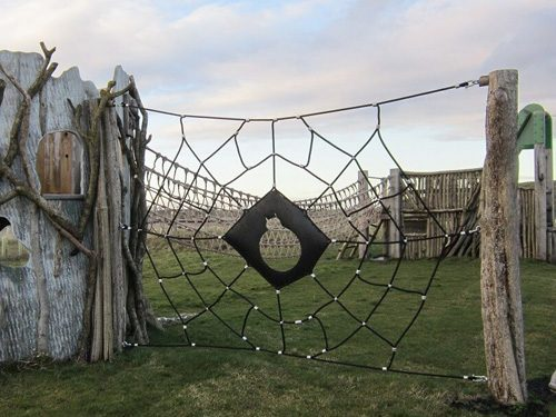 Spider Web Climb Net