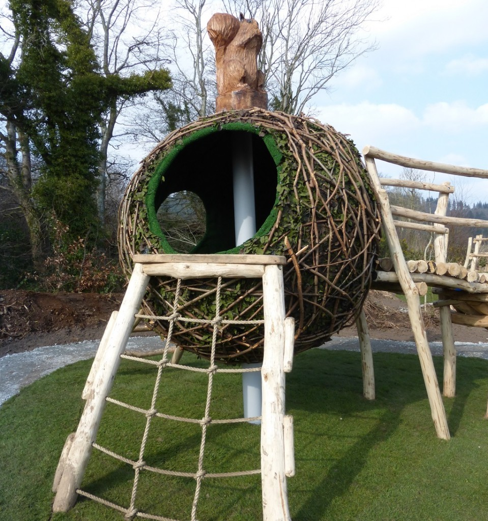 Squirrels Drey Play Equipment At Castlewellan E1438079188290