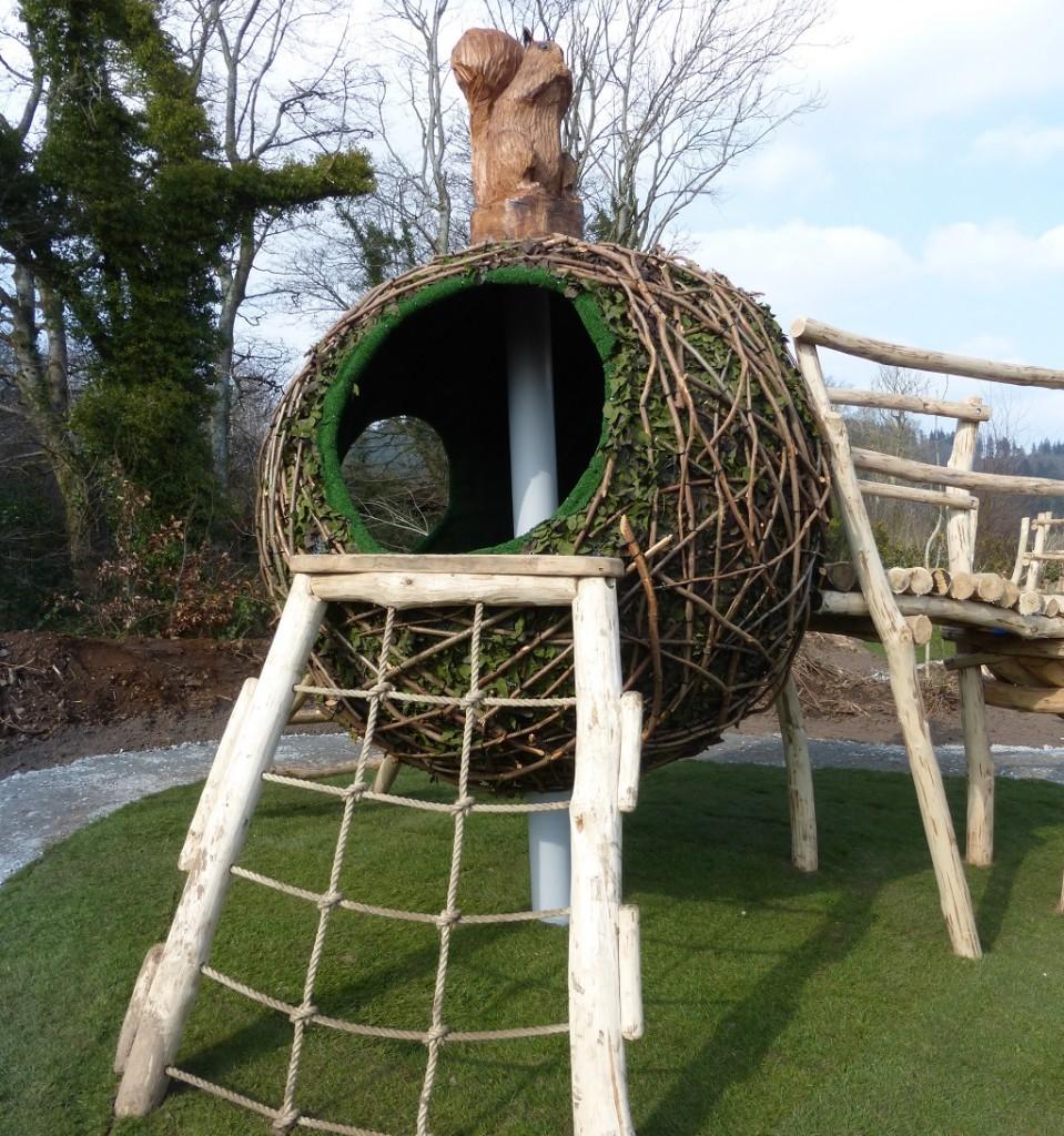 Squirrels Drey Play Equipment At Castlewellan E1438079188290