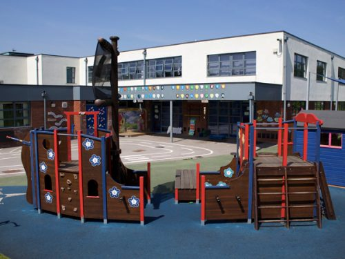 St Marys School Pirate Ship Play Area