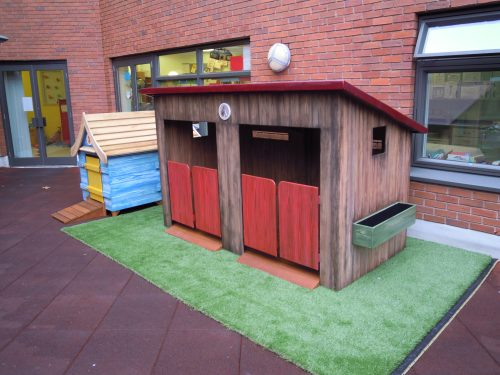 Stables And Coup Gloucestershire Royal Hospital Rooftop Play Area