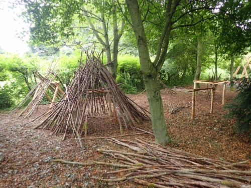 Stick Play Fountains Abbey And Studley Foyal Extensive Rustic Outdoor Woodland Play Area By Flights Of Fantasy