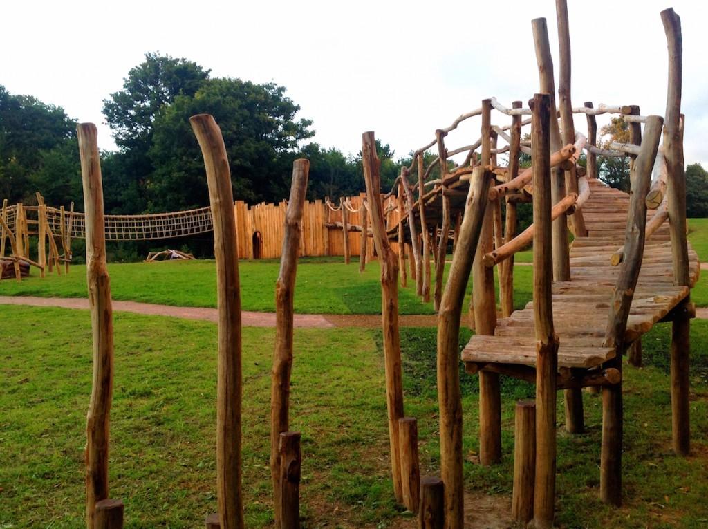 Stilts - Farnham Park Rustic Outdoor Play Area 17