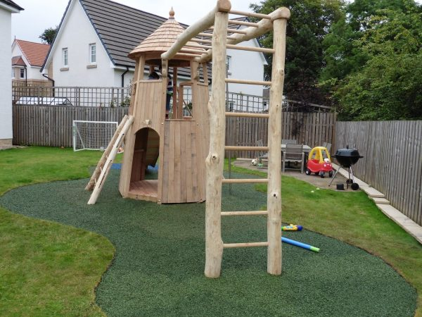 Swing Bars And Ladder – Glasgow Garden Tower