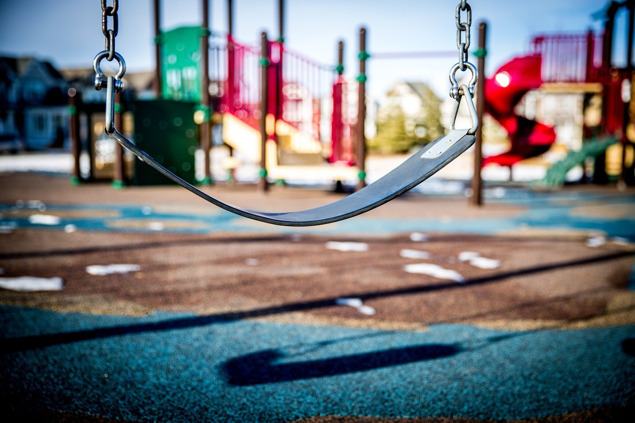 Swing In Playground