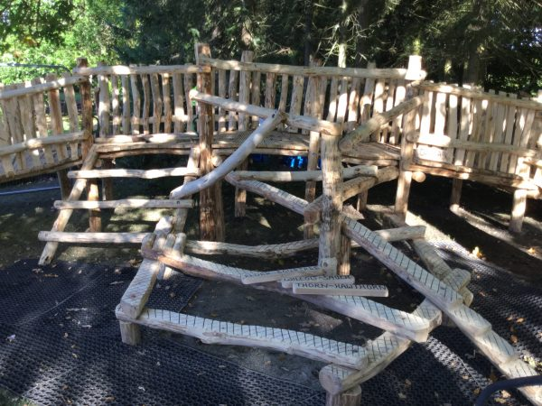 Tangle Climb Robert Burns Museum Themed Playground
