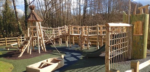 The Duke Of Cambridge Rustic Playground
