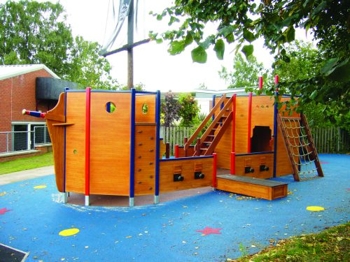 The Plank St. Johns School Pirate Ship Play Area