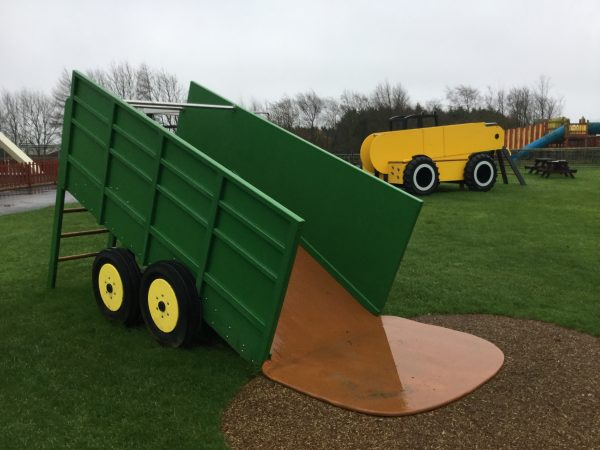 Tipping Trailer Folly Farm Play Machines