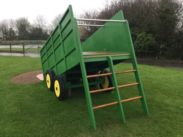 Tipping Trailer Ladder Folly Farm Play Machines