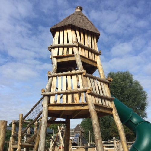 Tower Knockhatch Fort Chestnut Wood Adventure Play Area E1516348711743
