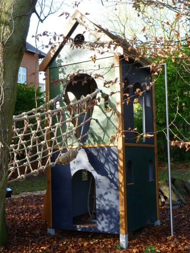Tower And Rope Bridge Winchester Tower Private Play Area Playground By Flights Of Fantasy