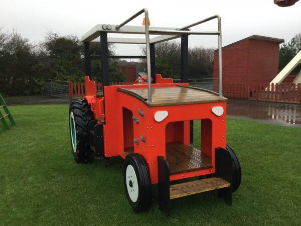 Tractor Folly Farm Play Machines