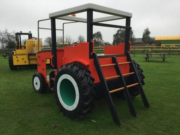 Tractor Ladder Folly Farm Play Machines