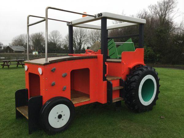 Tractor Side Folly Farm Play Machines
