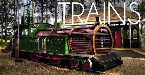Trains 500px
