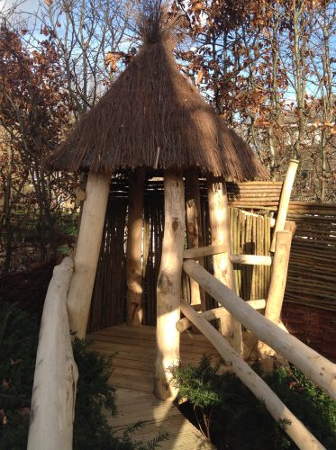 Turret The Secret Garden Rustic Play Area For Private Client By Flights Of Fantasy