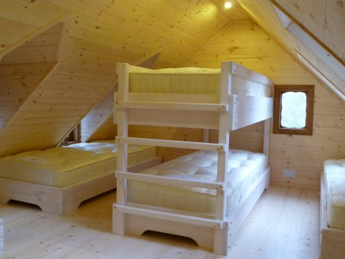 Upper Floor – Pinewood Hideaway Custom Built Bespoke Treehouse Playhouse