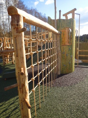 Vertical Climb Net The Duke Of Cambridge Adventure Play Area